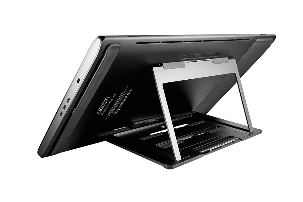 Wacom Stand with MobileStudio Pro 16 back