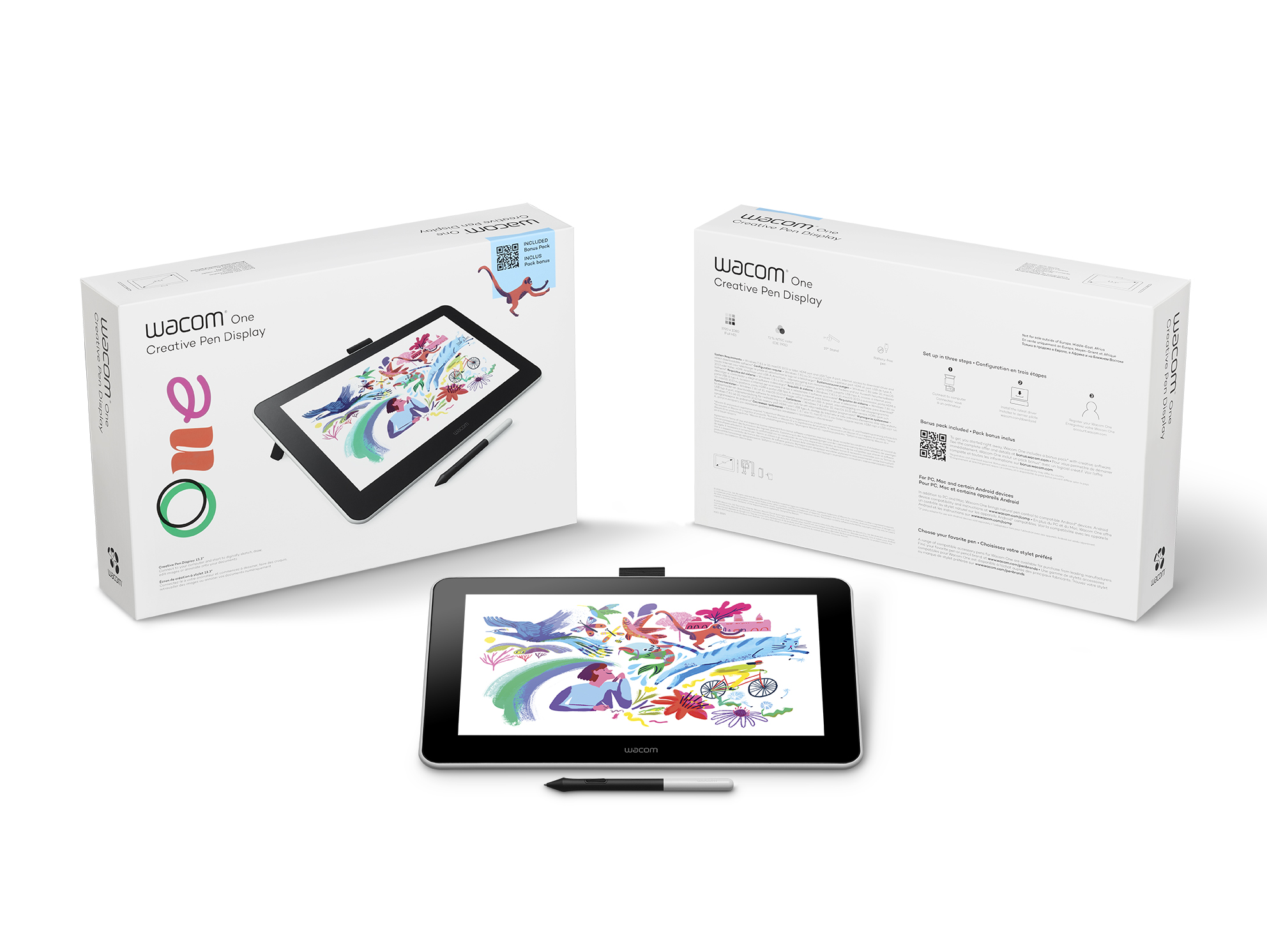 Wacom One Cerative Pen Display de 13