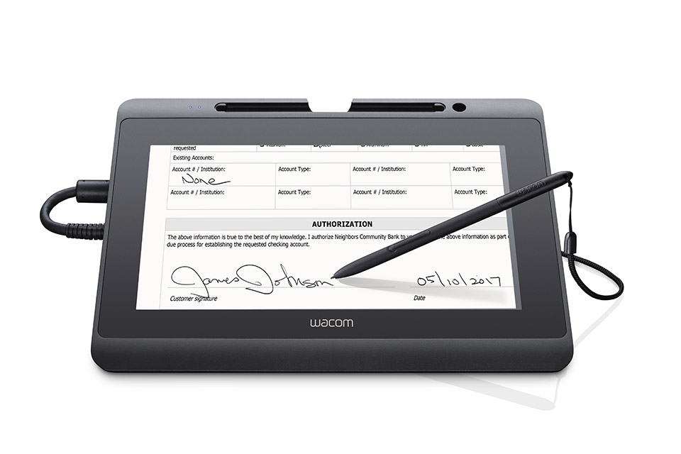 Signature Set - DTH-1152 & sign pro PDF